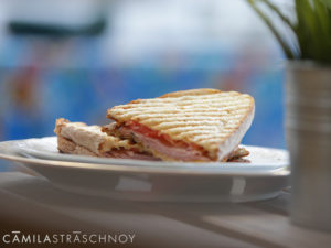 Ham & Cheese Panini at CREAM Miami