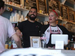 The owners of CREAM Parlor in Miami
