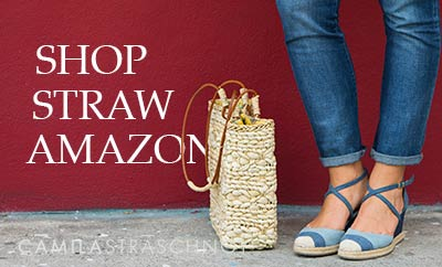 Shop Straw Handbags on Amazon