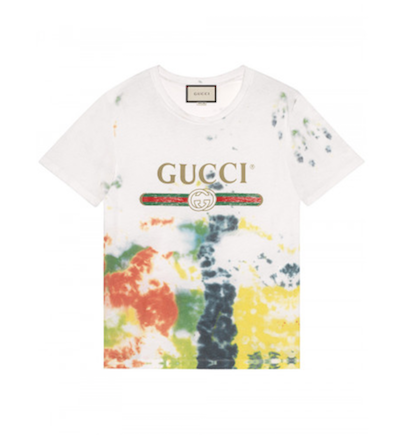 Gucci Cotton tie-DYE shirt The bester